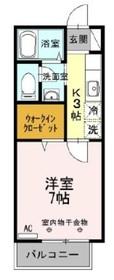 TOKIO-CF2階Fの間取り画像