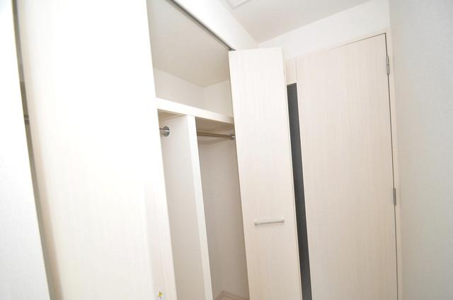 アドバンス大阪フェリシア もちろん収納スペースも確保。いたれりつくせりのお部屋です。