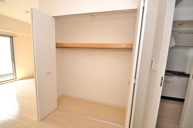 トリニティ東野 もちろん収納スペースも確保。おかげでお部屋の中がスッキリ。