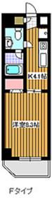 成増駅 徒歩16分3階Fの間取り画像