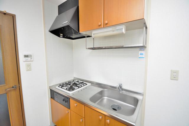 メルシー2000 大きなキッチンはお料理の時間を楽しくしてくれます。