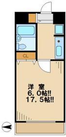 マメゾン4階Fの間取り画像