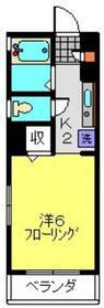 ヨコハマベイキング&プリンス4階Fの間取り画像