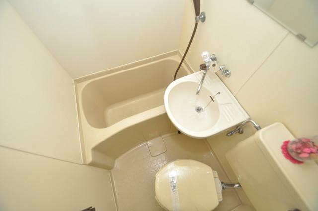 東大阪レジデンス シャワー一つで水回りが掃除できて楽チンです