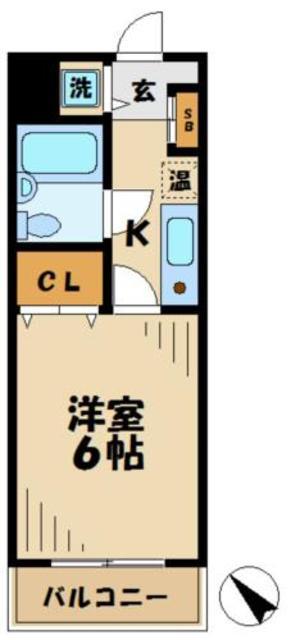 京王永山駅 徒歩4分間取図