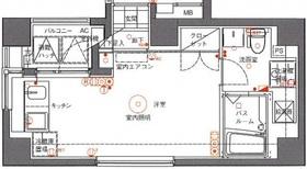 アランシア鶴見5階Fの間取り画像