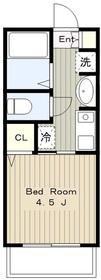 新百合ヶ丘駅 徒歩13分3階Fの間取り画像
