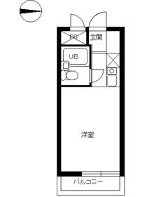スカイコート橋本第25階Fの間取り画像