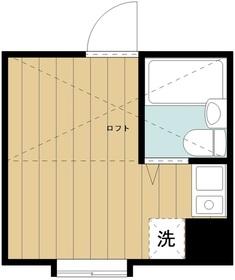 パンシオン小田急相模原No.51階Fの間取り画像