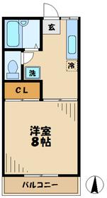 門沢橋駅 徒歩13分1階Fの間取り画像
