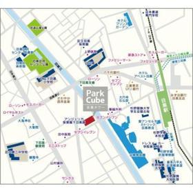 パークキューブ目黒タワー案内図