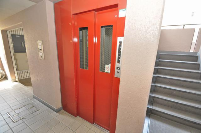 グリーンパーク加美 嬉しい事にエレベーターがあります。重い荷物を持っていても安心