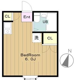 シエナ2階Fの間取り画像
