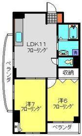 エスト3階Fの間取り画像
