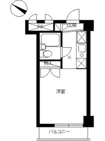 スカイコート大倉山3階Fの間取り画像