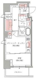 アトラス西早稲田2階Fの間取り画像