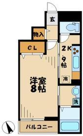 メゾンラフォーレ3階Fの間取り画像