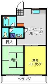 レジデンス・デュー3階Fの間取り画像
