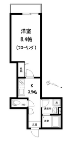コンフォート1階Fの間取り画像