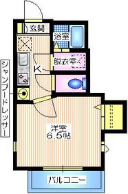 メゾンイソー1階Fの間取り画像