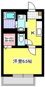 パナスィーム1階Fの間取り画像