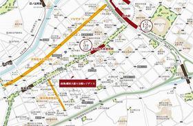 ハーモニーレジデンス横浜大通り公園案内図