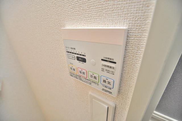 カーサ・エテルナ 浴室乾燥機付きで梅雨の時期も怖くありません。