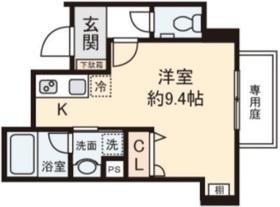 Park View Asagaya1階Fの間取り画像