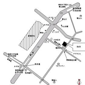 KDXレジデンス南青山案内図