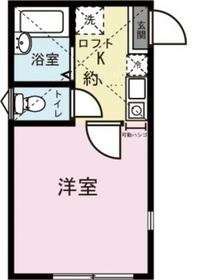 ポートアベニュー川崎2階Fの間取り画像
