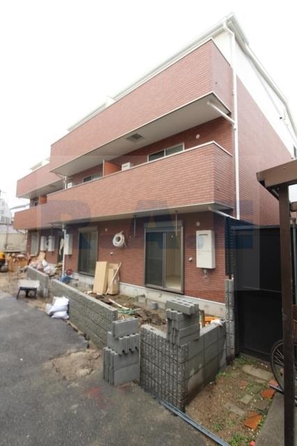 大阪市阿倍野区共立通1丁目の賃貸アパートの外観