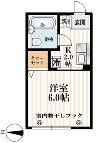 井荻駅 徒歩11分1階Fの間取り画像