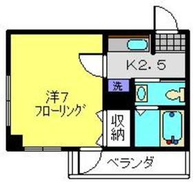 Y.M FLAT2階Fの間取り画像
