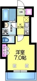 へーベルメゾン亀戸2階Fの間取り画像
