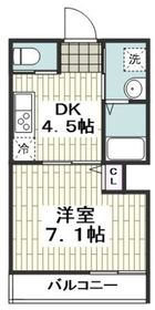 高座渋谷駅 徒歩3分2階Fの間取り画像