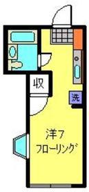 日吉駅 徒歩5分2階Fの間取り画像