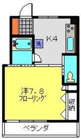 カルム・モリヤ2階Fの間取り画像