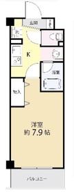 AZ本郷菊坂2階Fの間取り画像