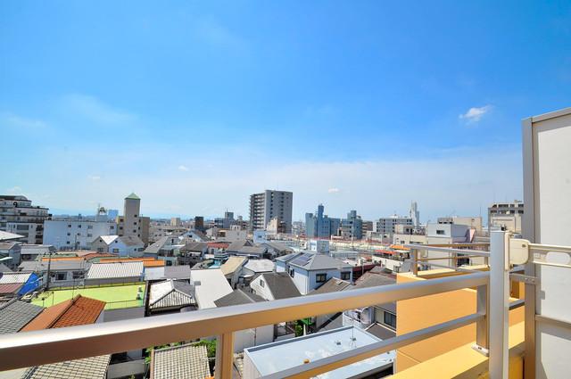 サイプレス小阪駅前 この見晴らしが陽当たりのイイお部屋を作ってます。