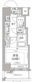 アイル横浜ノースツインズⅠ8階Fの間取り画像