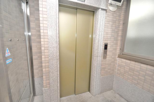 Ritz新今里 嬉しい事にエレベーターがあります。重い荷物を持っていても安心