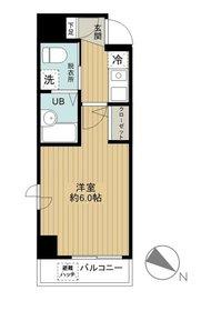 グリフィン横浜・ベイブリーズ6階Fの間取り画像