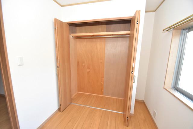 横沼町1-9-12 貸家 もちろん収納スペースも確保。いたれりつくせりのお部屋です。