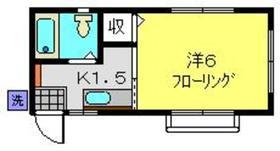 仲木戸駅 徒歩16分2階Fの間取り画像