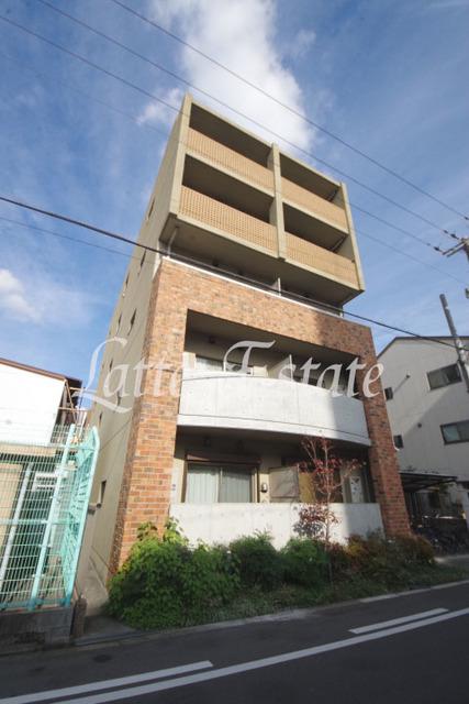 大阪市城東区諏訪4丁目の賃貸マンションの外観