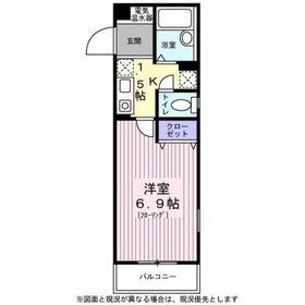 フォンテ・カーサ2階Fの間取り画像