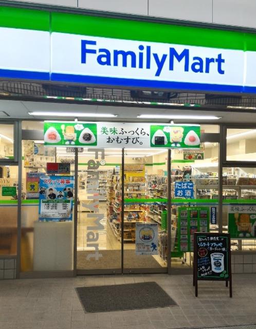 ファミリーマート桃谷商店街東店