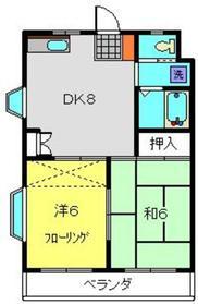 ヴィラコートF・K3階Fの間取り画像