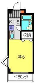 元住吉駅 徒歩4分3階Fの間取り画像