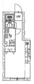 牛込神楽坂駅 徒歩14分2階Fの間取り画像